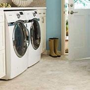 Tile laundry room | Custom Floors