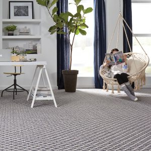 Seaport blue carpet | Custom Floors
