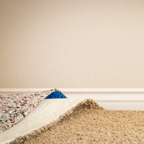 Carpet installation with padding | Custom Floors