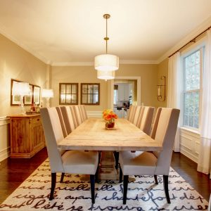 Dining room interior | Custom Floors