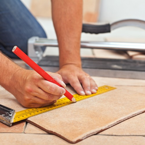 Measurement for installation of Tile | Custom Floors