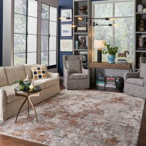 Area Rug in living room Fishers, IN | Custom Floors