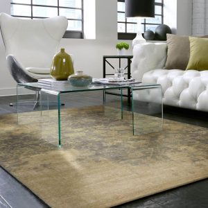Area Rug in living room   Custom Floors