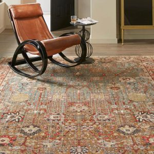 Armchair on Area Rug | Custom Floors