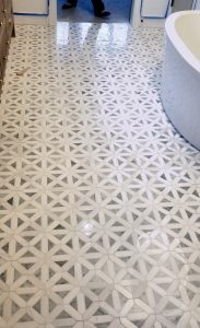 Bathroom Tile Floor | Custom Floors