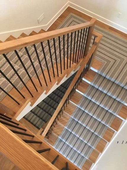Custom Rug Stair Runner | Custom Floors