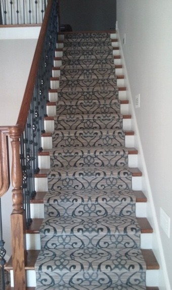 Custom stair runner | Custom Floors
