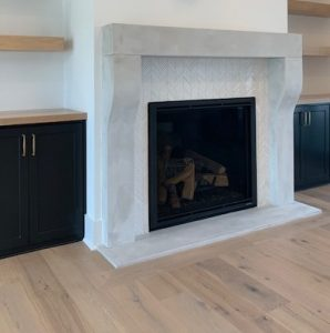 Fireplace | Custom Floors
