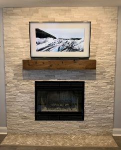 Fireplace Before 2 | Custom Floors