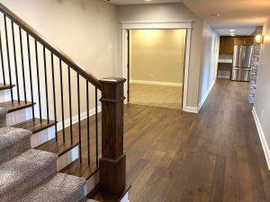 Line House Basement | Custom Floors