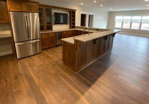 Line House Basement Kitchen | Custom Floors
