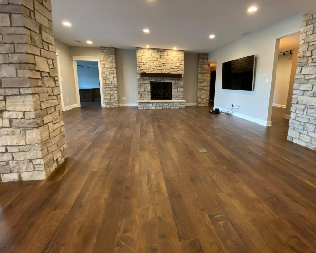 Line House BasementFP | Custom Floors