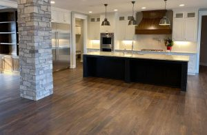 Line House Kitchen | Custom Floors