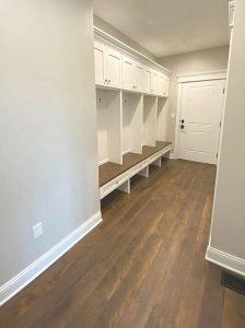 Line House Mudroom | Custom Floors