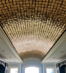 Master Bath Ceiling | Custom Floors