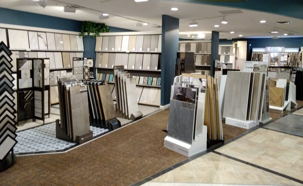 Showroom tile | Custom Floors
