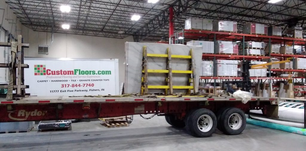 Warehouse Slab Truck | Custom Floors
