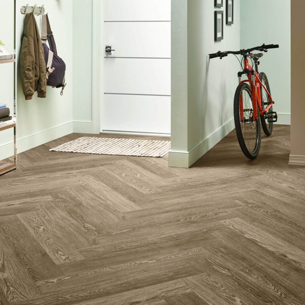 Bicycle on flooring | Custom Floors