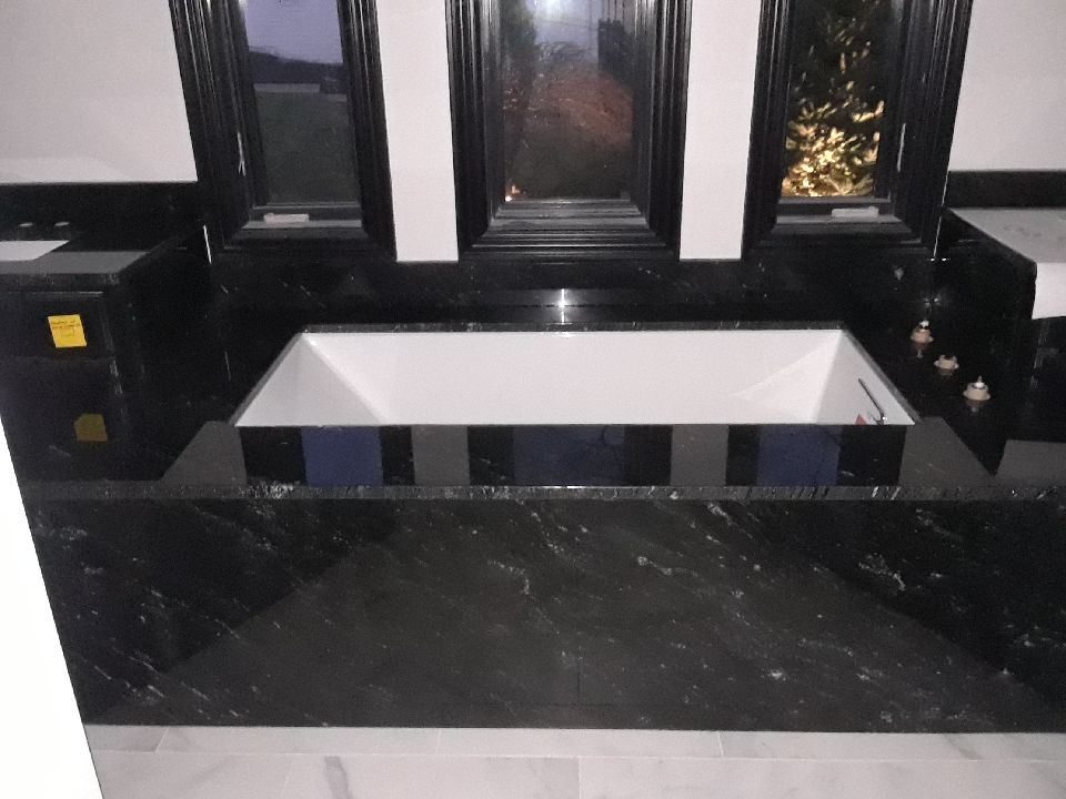 Black Bath Deck Reece 2