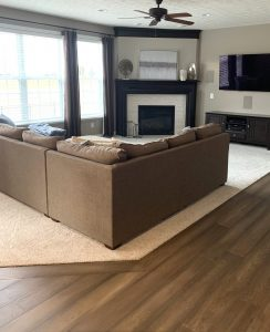 Boggs Living area | Custom Floors