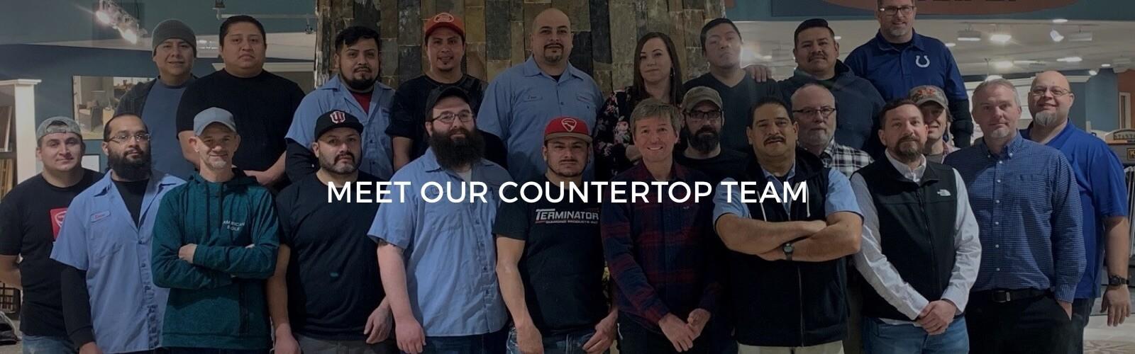 meet our countertop team | Custom Floors